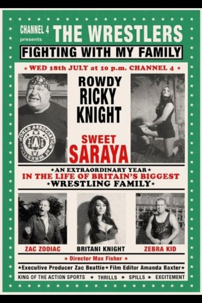 Caratula, cartel, poster o portada de The Wrestlers: Fighting with My Family