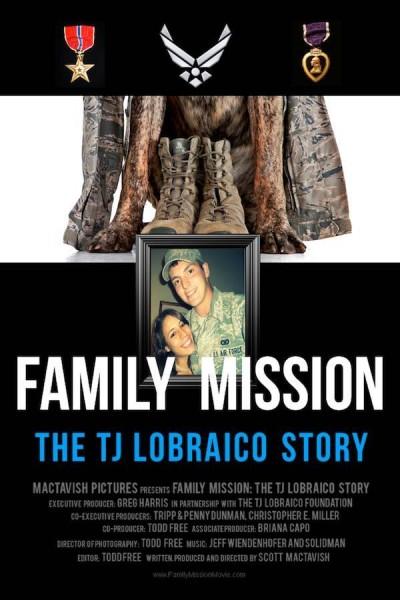 Caratula, cartel, poster o portada de Family Mission: The TJ Lobraico Story