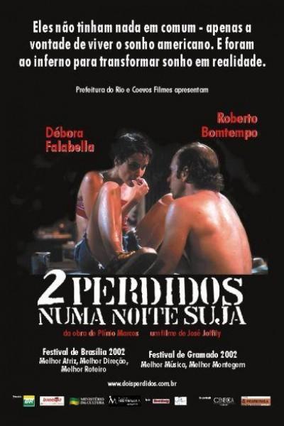 Caratula, cartel, poster o portada de 2 perdidos en la noche