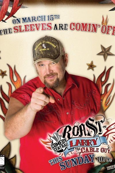 Caratula, cartel, poster o portada de Comedy Central Roast of Larry the Cable Guy