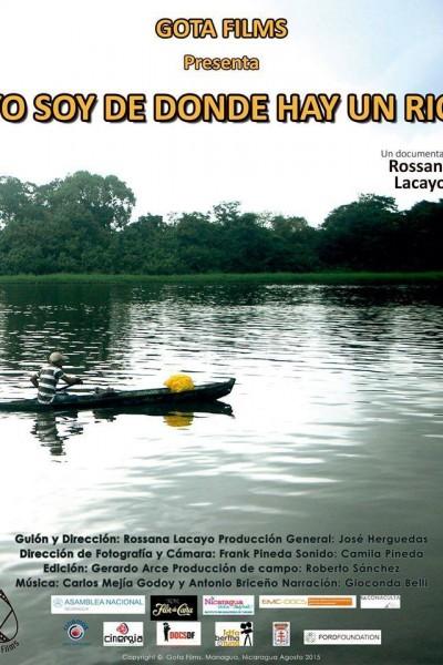 Caratula, cartel, poster o portada de Yo soy de donde hay un río