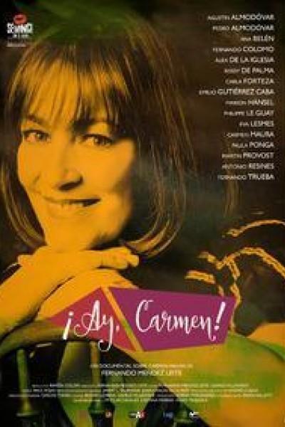 Caratula, cartel, poster o portada de ¡Ay, Carmen!