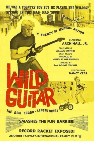 Caratula, cartel, poster o portada de Wild Guitar