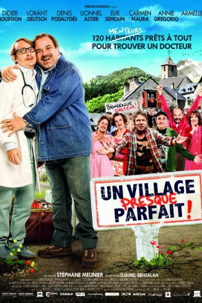 Caratula, cartel, poster o portada de Un village presque parfait