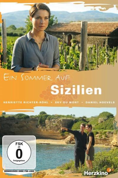 Caratula, cartel, poster o portada de Un verano en Sicilia