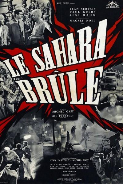 Caratula, cartel, poster o portada de Le Sahara brûle