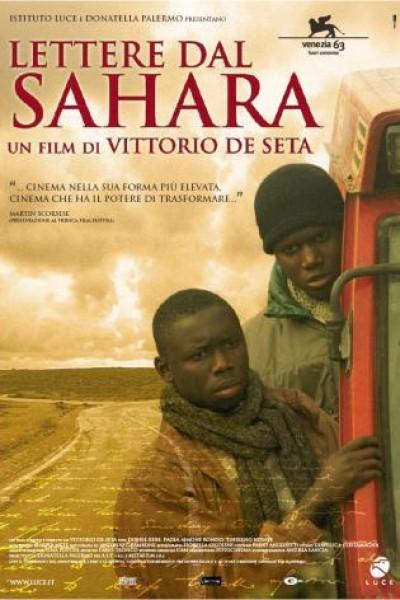 Caratula, cartel, poster o portada de Lettere dal Sahara