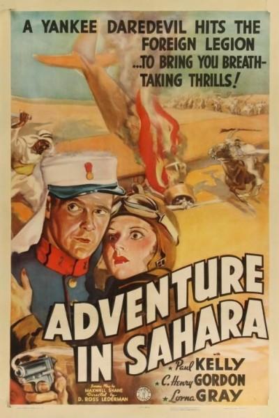 Caratula, cartel, poster o portada de Adventure in Sahara