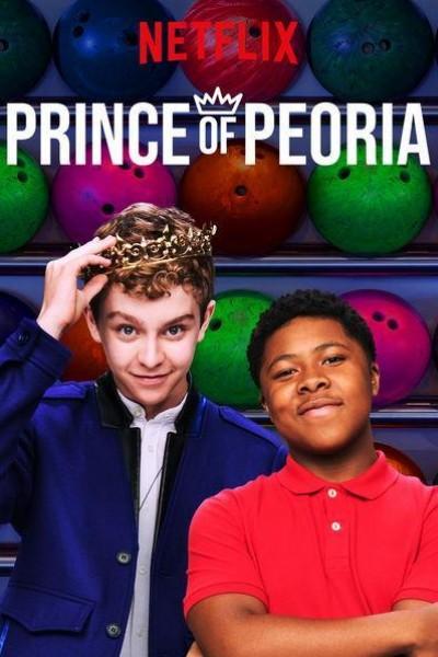 Caratula, cartel, poster o portada de El príncipe de Peoria
