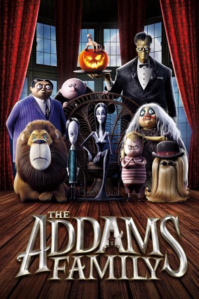 Caratula, cartel, poster o portada de The Addams Family