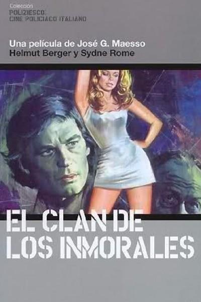 Caratula, cartel, poster o portada de El clan de los inmorales