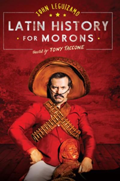 Caratula, cartel, poster o portada de John Leguizamo\'s Latin History for Morons