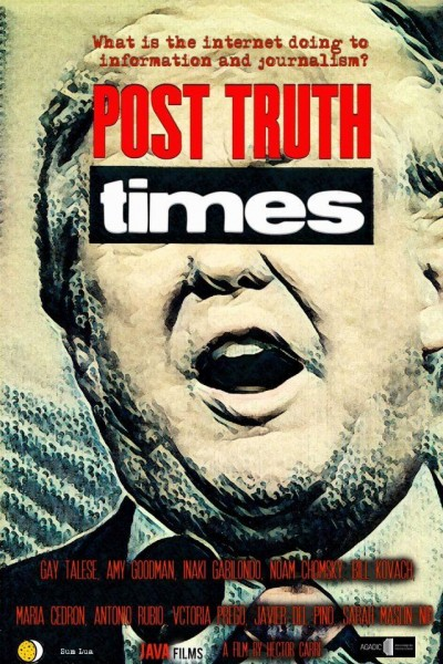 Caratula, cartel, poster o portada de Post Truth Times