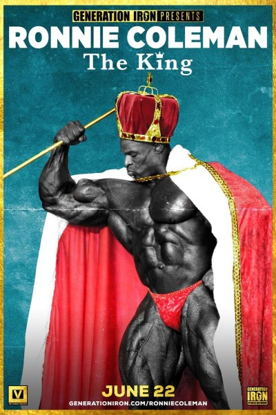Caratula, cartel, poster o portada de Ronnie Coleman: The King