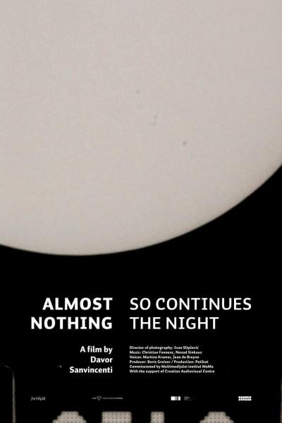 Caratula, cartel, poster o portada de Almost Nothing: So Continues the Night