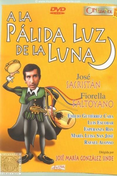 Caratula, cartel, poster o portada de A la pálida luz de la luna