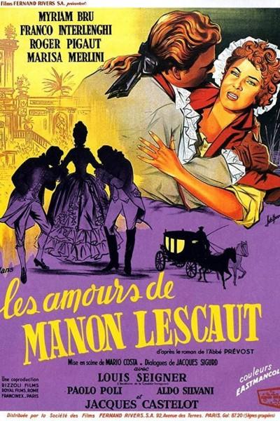Caratula, cartel, poster o portada de Gli amori di Manon Lescaut