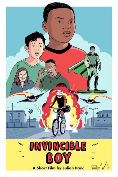 Caratula, cartel, poster o portada de Invincible Boy