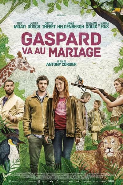 Caratula, cartel, poster o portada de Gaspard va au mariage