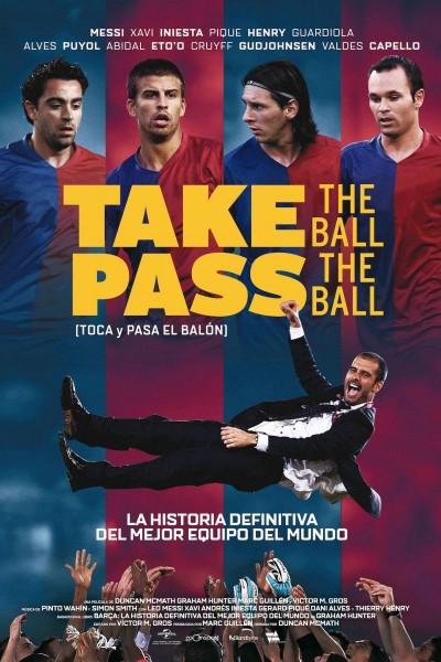 Caratula, cartel, poster o portada de Toca y pasa el balón