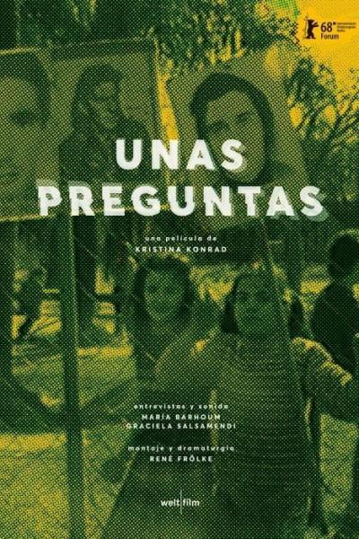 Caratula, cartel, poster o portada de Unas preguntas