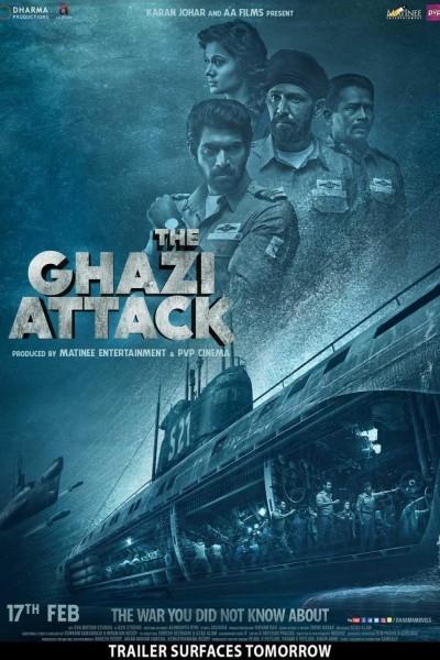 Caratula, cartel, poster o portada de The Ghazi Attack