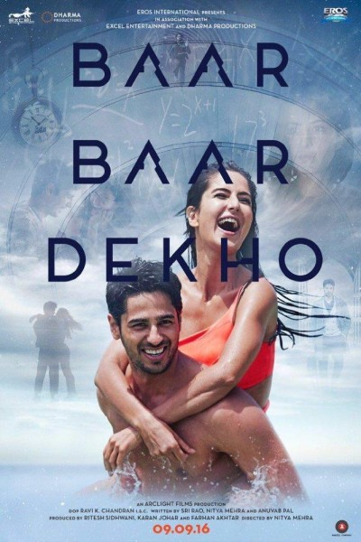 Caratula, cartel, poster o portada de Baar Baar Dekho