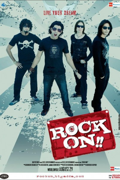 Caratula, cartel, poster o portada de Rock On!!