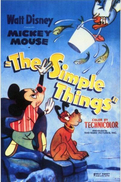 Caratula, cartel, poster o portada de Mickey Mouse: Las cosas sencillas