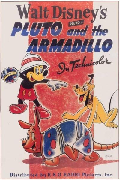 Caratula, cartel, poster o portada de Mickey Mouse: Pluto y el armadillo