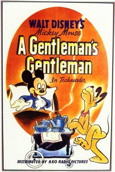 Caratula, cartel, poster o portada de Mickey Mouse: El auténtico caballero