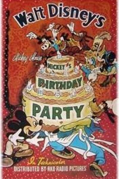 Caratula, cartel, poster o portada de Mickey Mouse: La fiesta de cumpleaños de Mickey