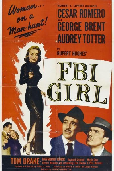 Caratula, cartel, poster o portada de La chica del FBI