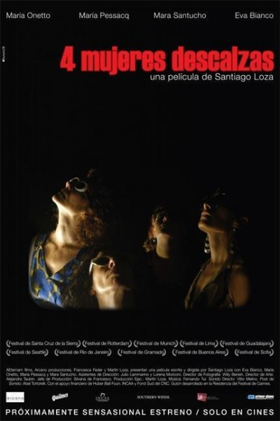 Caratula, cartel, poster o portada de Cuatro mujeres descalzas