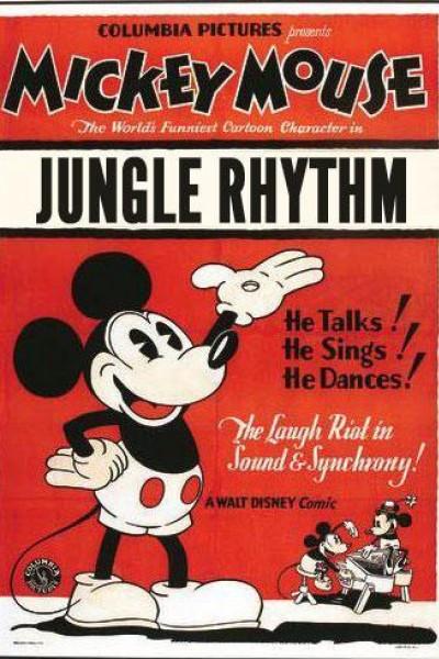 Caratula, cartel, poster o portada de Mickey Mouse: Ritmo en la selva