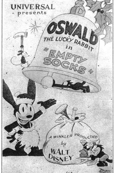 Caratula, cartel, poster o portada de Oswald the Lucky Rabbit: Empty Socks