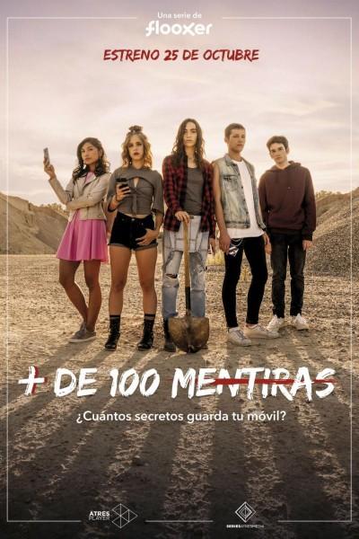Caratula, cartel, poster o portada de Más de 100 mentiras