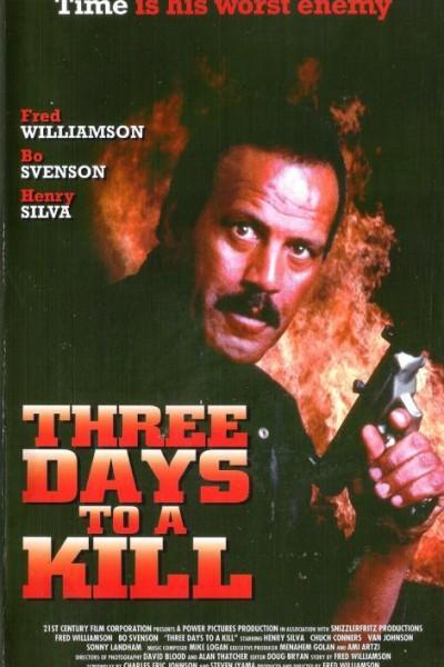 Caratula, cartel, poster o portada de Three Days to a Kill