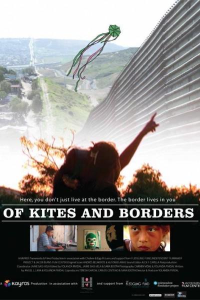 Caratula, cartel, poster o portada de De cometas y fronteras