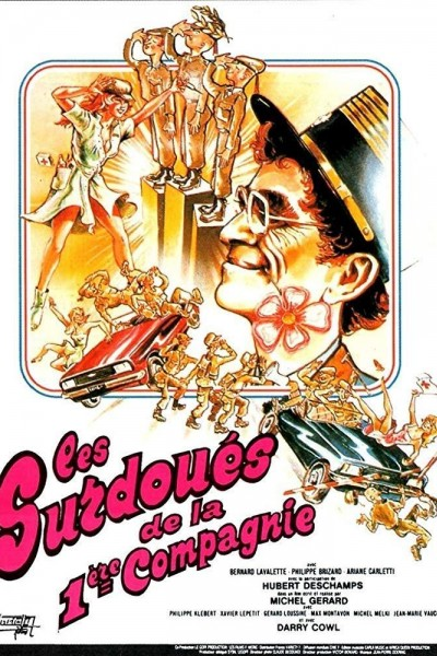 Caratula, cartel, poster o portada de Los superdotados de la 1ª compañía (1981)