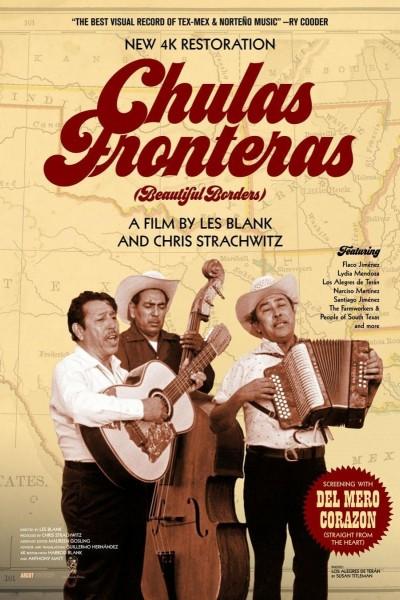 Caratula, cartel, poster o portada de Chulas Fronteras