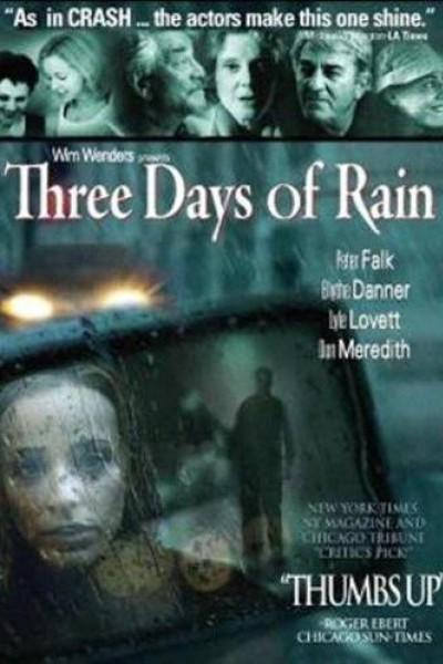 Caratula, cartel, poster o portada de Tres días de lluvia