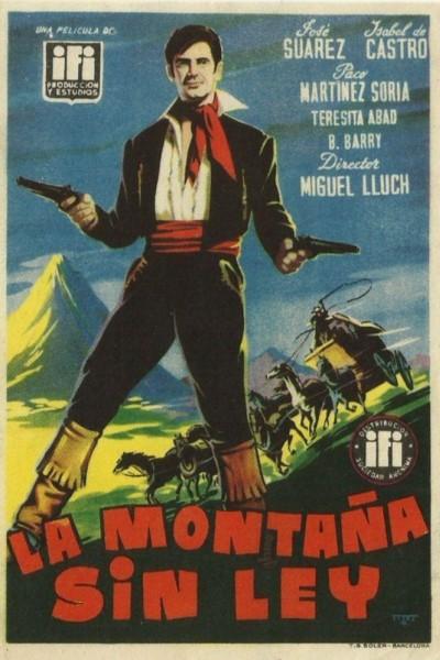 Caratula, cartel, poster o portada de La montaña sin ley