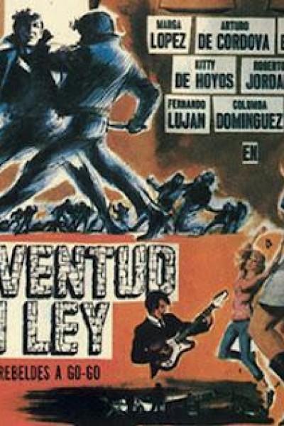 Caratula, cartel, poster o portada de Juventud sin ley (Rebeldes a go-go)