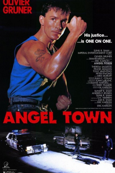 Caratula, cartel, poster o portada de Angel Town: Distrito sin ley