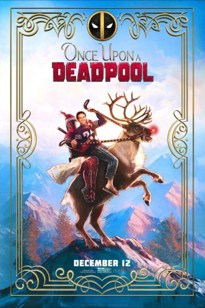 Caratula, cartel, poster o portada de Once Upon a Deadpool
