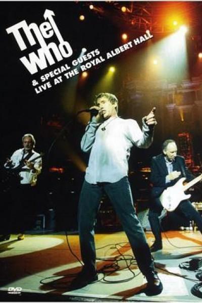 Caratula, cartel, poster o portada de The Who Live at the Royal Albert Hall