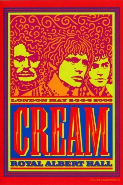 Caratula, cartel, poster o portada de Cream: Royal Albert Hall, London May 2-3-5-6 2005