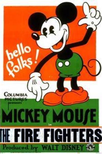 Caratula, cartel, poster o portada de Mickey Mouse: Los bomberos
