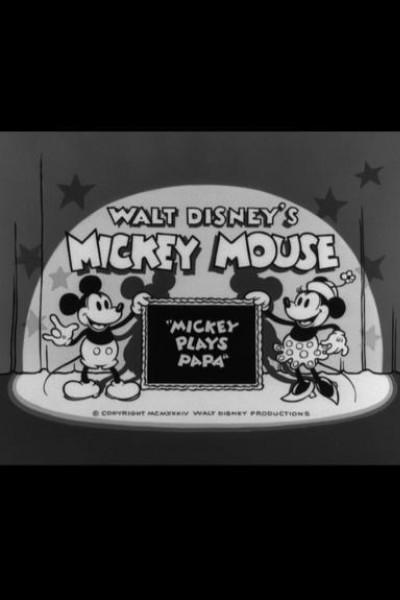 Caratula, cartel, poster o portada de Mickey Mouse: Mickey juega a ser papá
